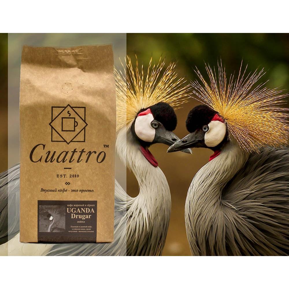 Кофе в зернах CUATTRO Uganda Drugar (Уганда Другар)
