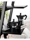 Гейзерная кофеварка Bialetti MOKA EXPRESS, чёрная, 3 порции, Арт. 4952