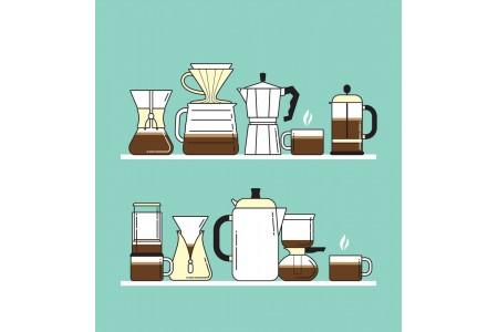 Несколько способов приготовления кофейного напитка