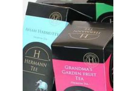 Чай премиум класса Hermann Tea из Германии