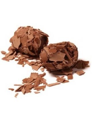 Шоколад The Belgian Трюфели из молочного шоколада в хлопьях, 145 г