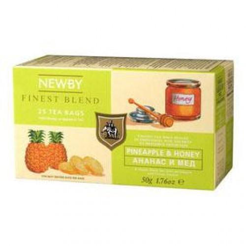 Newby Ананас и мед (25 пакетиков по 2 гр)