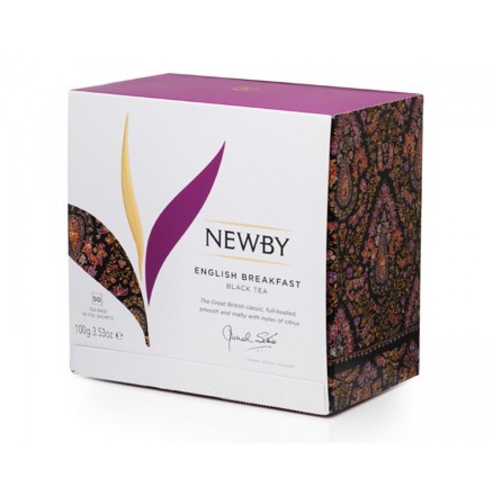 Newby Английский завтрак (50 пакетиков по 2 гр)
