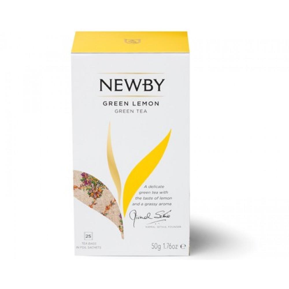 Newby Зеленый лимон (25 пакетиков по 2 гр)