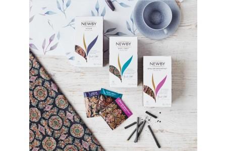 Обновленная коллекция чая Newby