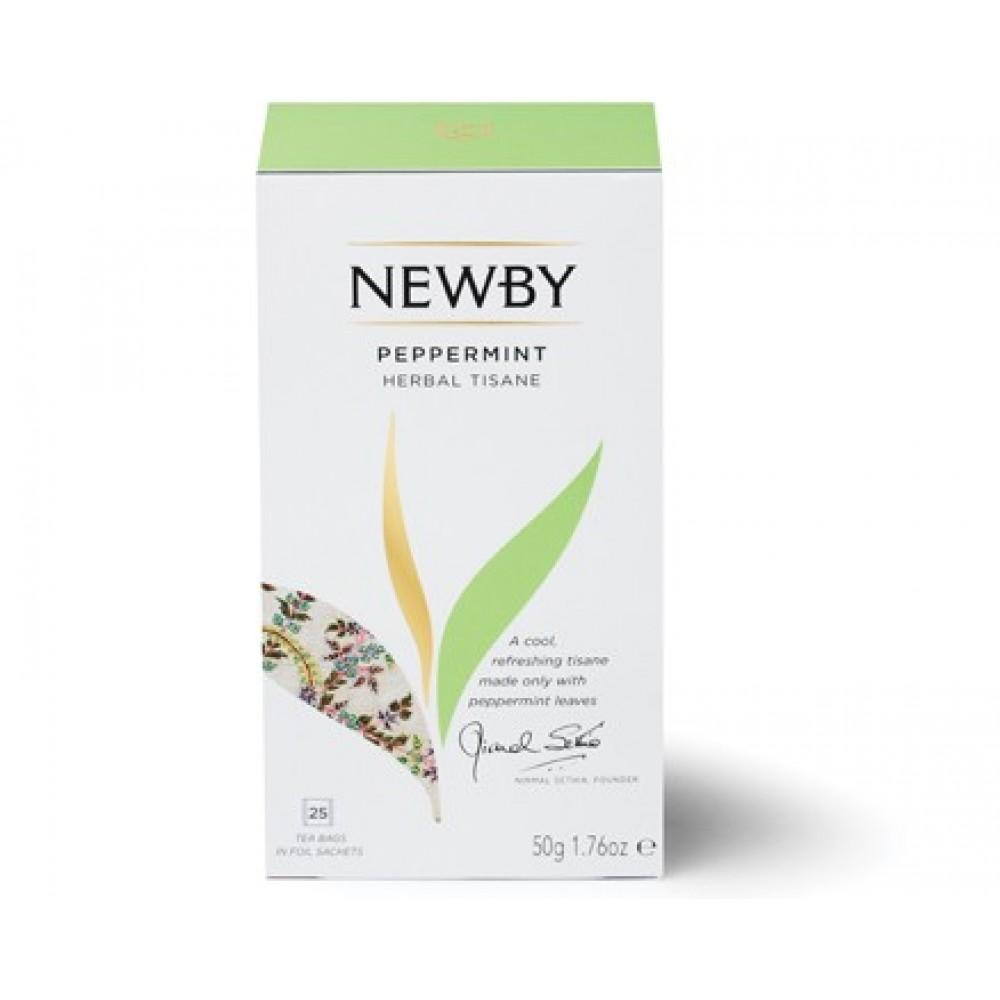 Newby Мята Перечная (25 пакетиков по 2 гр)
