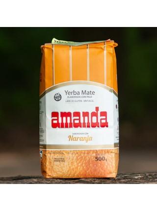 Мате Amanda Naranja, 500 гр.