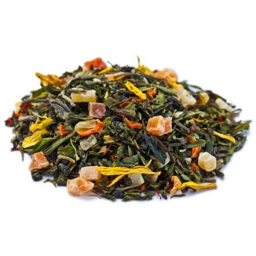 Купаж зеленого и белого чая Бенгальский Тигр