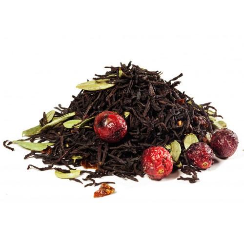 Чай черный ароматизированный Брусничный 100 г
