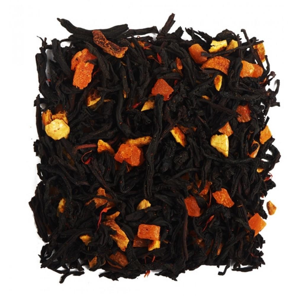 """Чай чёрный ароматизированный """"Красный апельсин"""" (Premium) 100 г"""