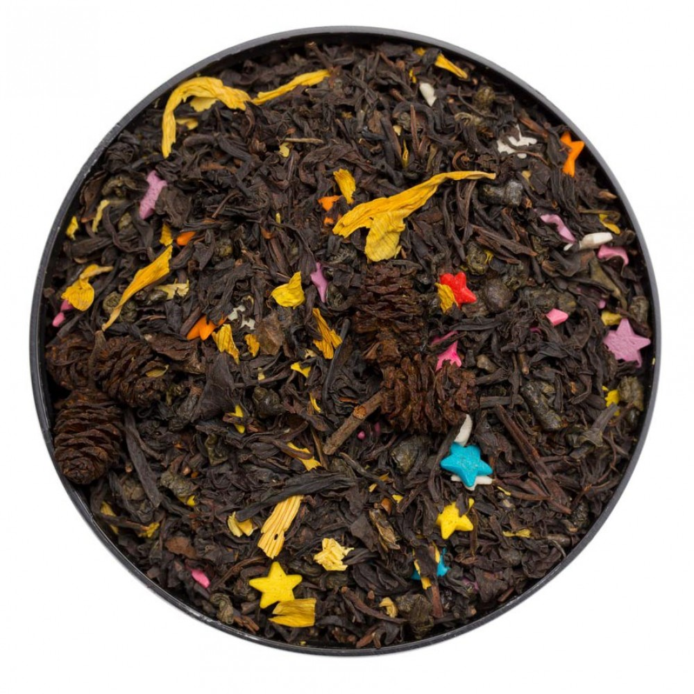 Купаж чёрного и зеленого чая Карнавал